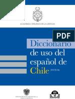 Diccionario de Uso Del Espanol de Chile (Fragmento)