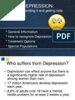 Depression Ppt