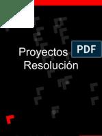 Proyectos de Resolución