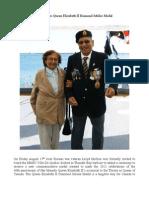 Korean War Veteran Recieves Queen's Jubilee Medal