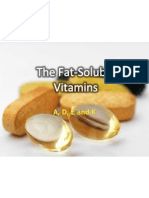Fat Soluble Vitamins (powerpoint)