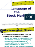 language of the-stock market-powerpoint presentation 1122g1[1]