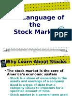 language of the-stock market-powerpoint presentation 1122g1[1]