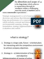 Strategic mangement unit 1 Anna university chennai MBA 3 semester