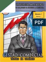 Gestão Comercial - Módulo 1 - Volume 1