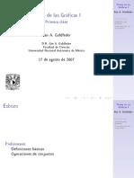 Definiciones preliminares para teoría de las gráficas
