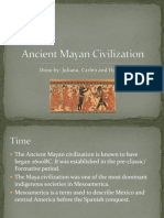 Ancient Mayan Civilization Group Work (3)