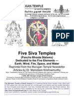 Five Siva Temples