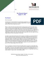 The Monarch Report 8/27/2012
