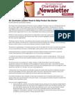 Charitable Law Newsletter  Summer 2012 (PDF)