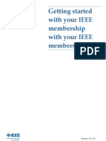 Getting started with your IEEE membership