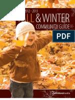 Township of Uxbridge - Fall & Winter Community Guide 2012 - 2013