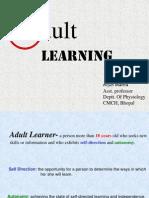 Adult Learning Arjun Cmch
