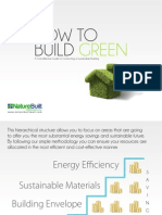 How to Build Green - NatureBuilt
