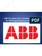 ABB UK Selects Tata Consultancy Services for ERP
