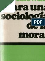 Ossowska, Maria - Para Una Socilogia de La Moral