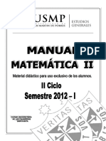 Manual Matemtica II 2012 2