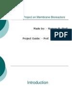 Seminar Project on Membrane Bioreactors