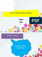 Fonem Dalam Bahasa Melayu