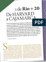 Revista PODER - De Harvard a Cajamarca