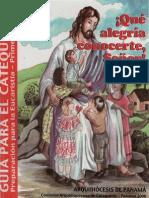 Panama, Archidiocesis de - Que Alegria Conocerte (Catequista)