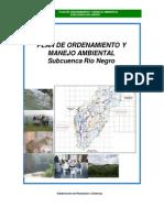 POMCA Subcuenca Rionegro