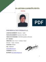 INFORMACION PERSONAL  GUILLERMO ARTURO LONDOÑO PINTO