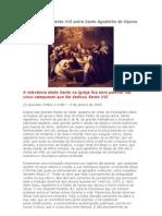 Catequeses de Bento XVI Sobre Santo Agostinho de Hipona