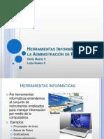Herramientas Informaticas Para Administracion de Proyectos