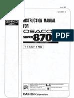 Osacom 8700 Teaching (1l4000c-9)