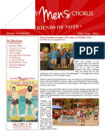 Friends of Note Newsletter 06.12