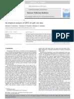 Kontovas et al (2010) An empirical analysis of IOPCF oil spill cost data