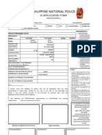 PNP ID FORM