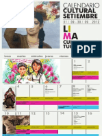 Agenda Cultural de Lima Septiembre 2012