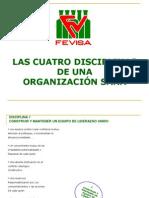 LAS CUATRO DISCIPLINAS DE UNA ORGANIZACIÓN SANA