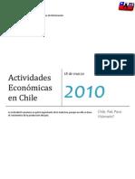 Actividades Económicas en Chile