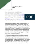 Neuroeducación e Inteligencia digital, Antonio Battro