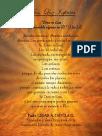P. Dávila (Dios, Luz Infinita)