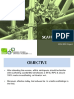 Scaffolding Training for IRPC