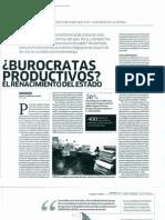 Burócratas productivos, el renacimiento del estado