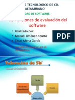 4.9 Funcions de Evaluacion Del Software