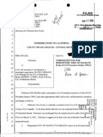 Writ of Mandate for fired Manhattan Beach police officer Eric Eccles