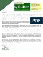 HS Friday Bulletin 08-24
