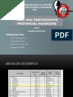 Diapositiva Plan Vial Huancane Para Quemar