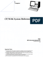 NEC APC CPM86 System Reference Guide Aug83