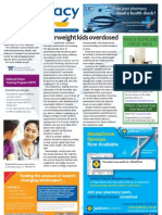 Pharmacy Daily for Tue 28 Aug 2012 - Overweight overdosing, API Calendar, Social Status and health and much more...