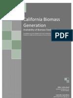 California Biomass Generation