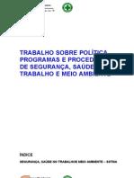 SSMA Política, Programa e Procedimentos