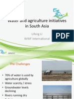 2012WWK-PPT-Water and Agriculture Initiatives by Lifeng LI