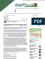 Estimasi Budget to Karimunjawa Island